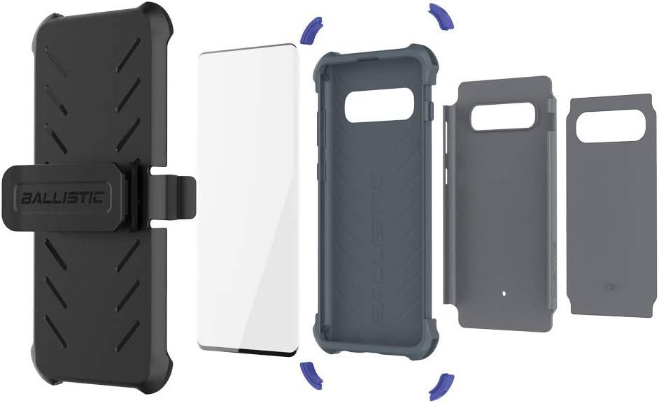 Gray BALLISTIC Tough Jacket MAXX Series for Samsung Galaxy S10 Plus