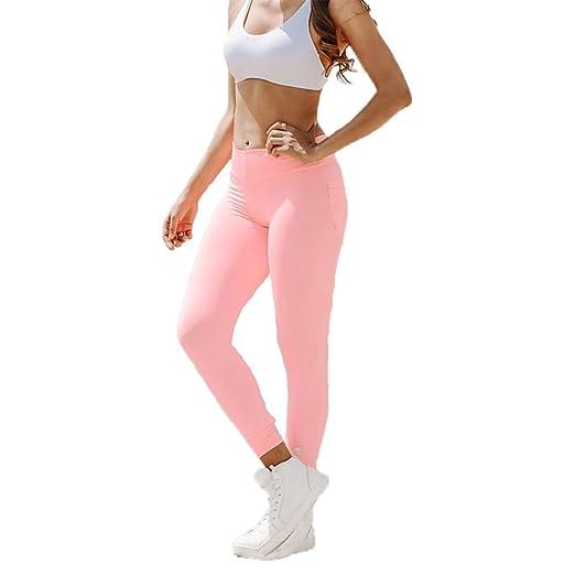HUOFEIKE Pantalones de Yoga para Mujeres, Pantalones de chándal ...