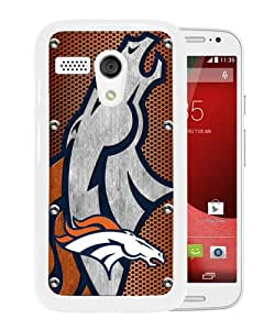 Popular Motorola Moto G Case ,Beautiful And Unique Designed With Denver Broncos 04 White Motorola Moto G Cover
