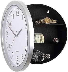 Wolfgo Reloj Caja de Contenedor Secreta Oculta Segura Reloj Caja ...