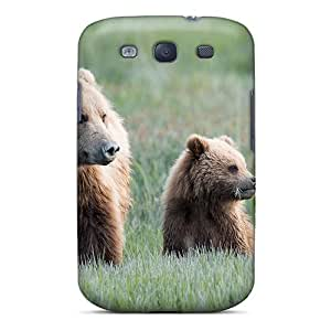 Snap-on Case Designed For Galaxy S3- Bears