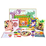 Learning Toy for kids - Italy Activity Kit from Globe Trotters Box (4-6 year olds)