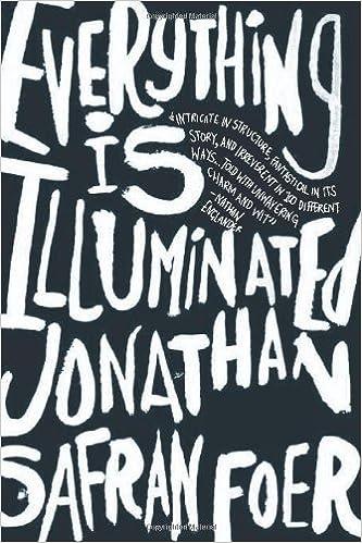 Everything Is Illuminated Jonathan Safran Foer Epub