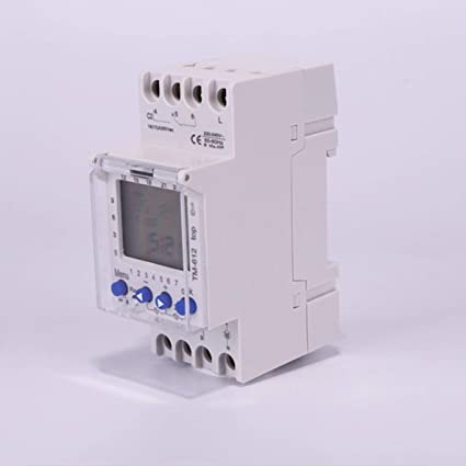SINOTIMER 220V Weekly 7 Days Programmable Digital TimeR Switch Relay Control L0