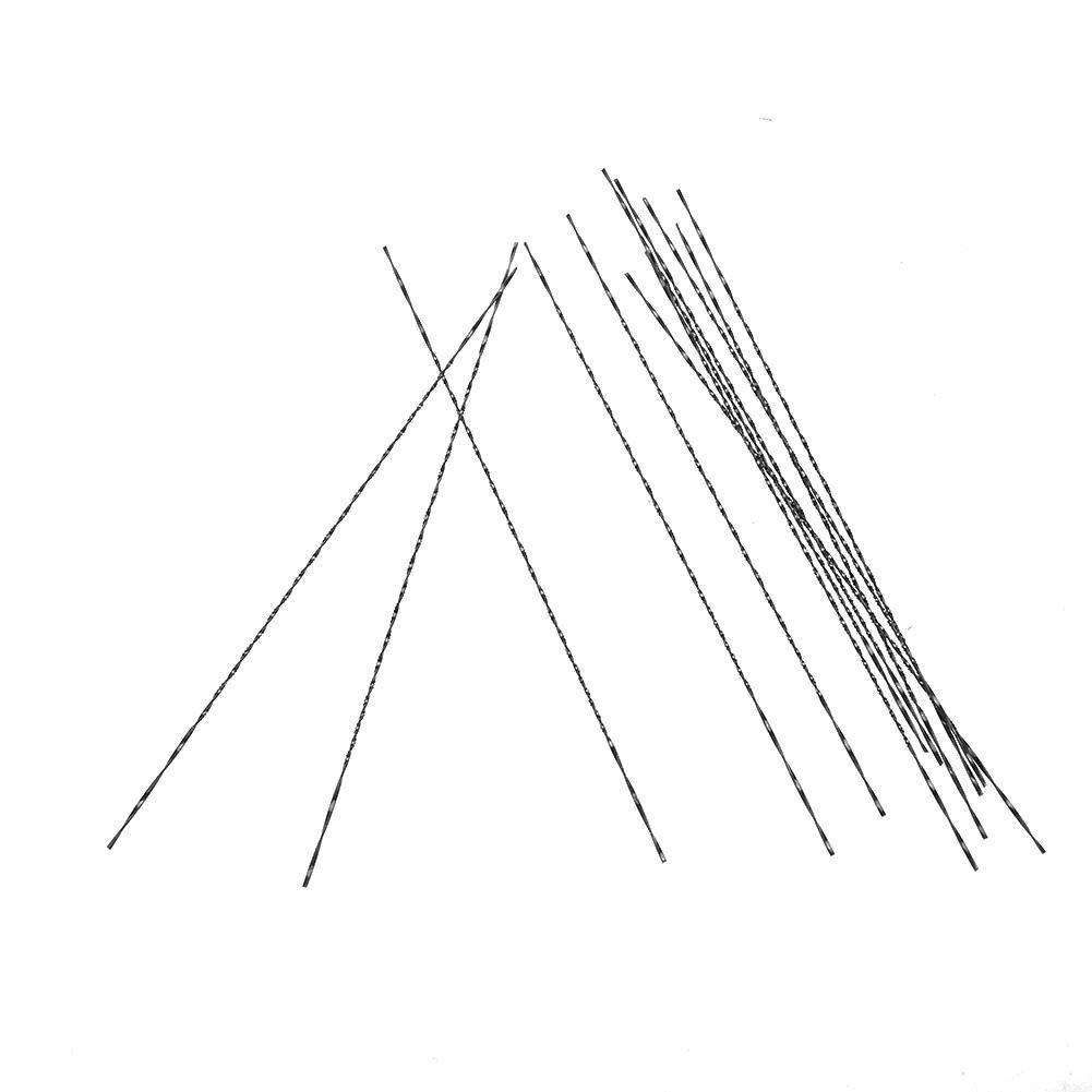 Feinschnitt S/ägebl/ätter Mit Spiralz/ähnen f/ür Holz Metall Kunststoff Schneiden S/ägen Carve 3# Dekupiers/ägebl/ätter 12 st/ücke Scroll S/ägebl/ätter