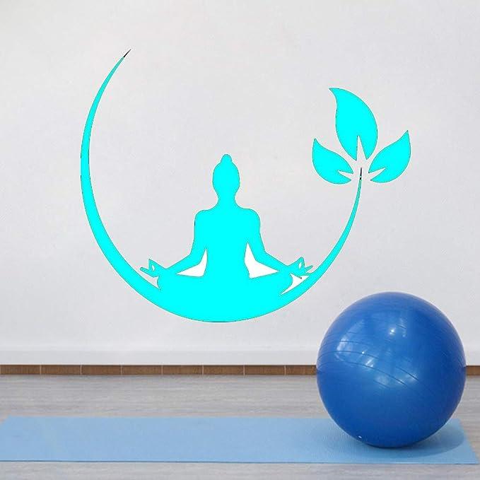 Ajcwhml Yoga Meditación Vinilo Adhesivo de Pared Budista Zen ...