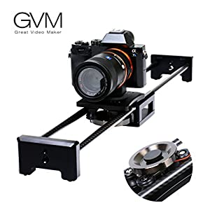 "Camera Slider Track Dolly Slider Rail System with Motorized Time Lapse and Video Shot Follow Focus Shot and 120 Degree Panoramic Shooting 31""80cm"