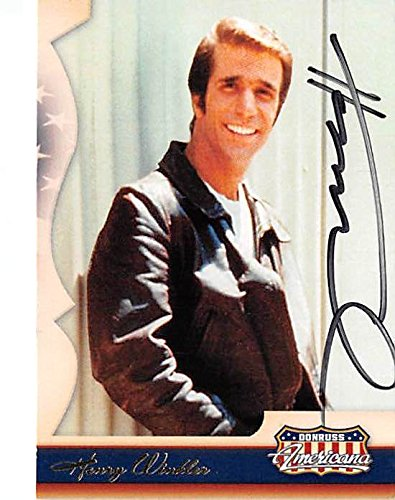 Henry Winkler autographed trading card (Happy Days The Fonze) 2007 Americana #54 by Autograph Warehouse