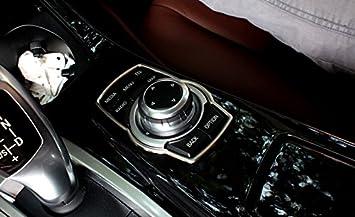 Cadre En Alliage DAluminium Boutons Multim/édia Coque Trim 1 pi/èce pour S/érie 1 F20 F21 2012-2017 BMW S/érie 2 Coup/é F22 2014-2017