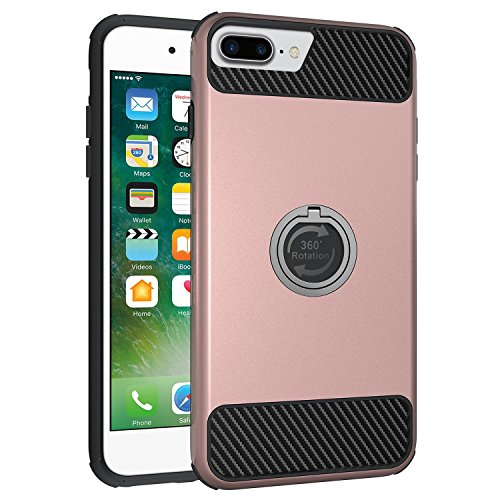 iPhone 7 Plus Case,IWAVION Shockproof Protection Dual Layer Hybrid Armor (Dual Layer Grip)