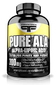 Prima Force Pure ALA, 300 Milligrams, 180 Capsules