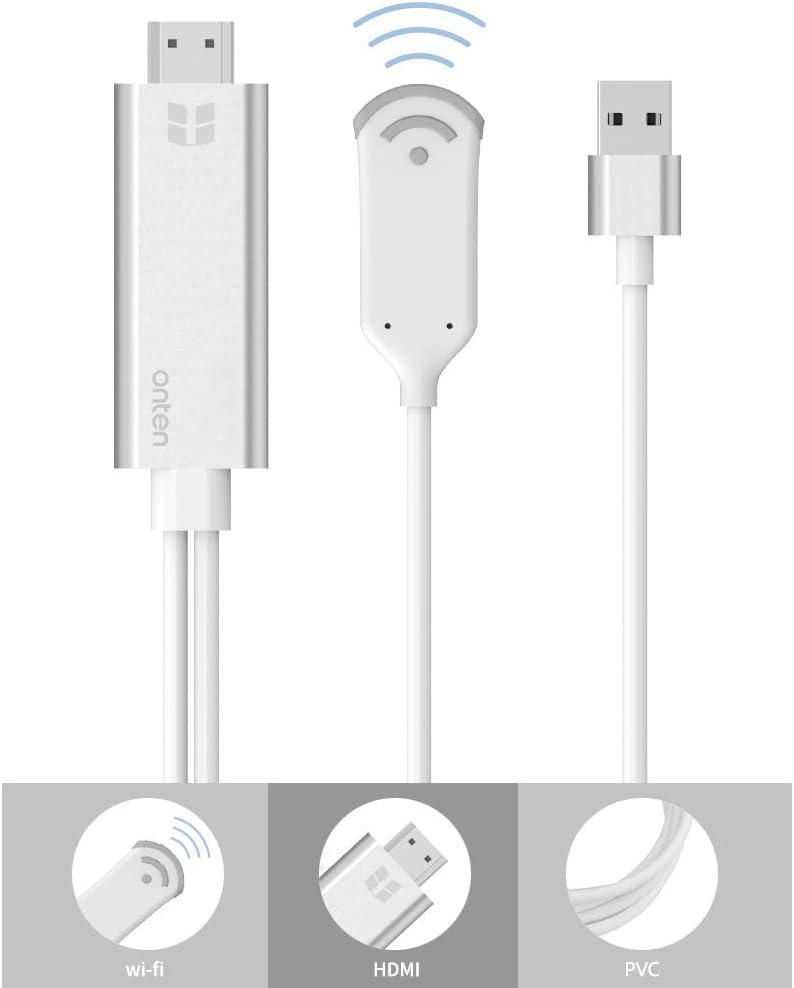 Onten 7571 - Adaptador HDMI para Smartphone Cable para conectar ...