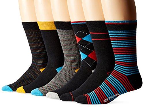 Ben Sherman 6 Pack Henry Socks