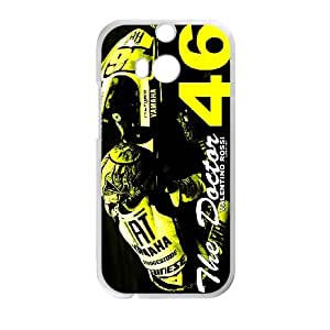 Valentino Rossi theme pattern design For HTC ONE M8 Phone Case