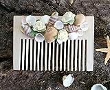 Wooden Seashell comb, Bride and bridesmaid beach jewelry, Summer seashell headpieces, Beach wedding hair asseccories