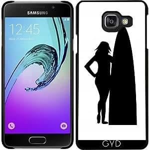 Funda para Samsung Galaxy A3 2016 (SM-A310) - Chica Con Tabla De Surf. by loki1982