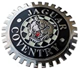 Jaguar Coventry car grille badge