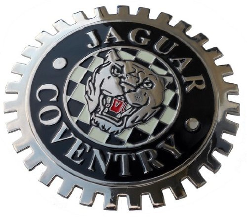 Jaguar Coventry car grille badge by Triple-C
