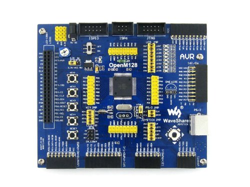 Waveshare ATMEL AVR Mega Board ATmega128A-AU ATmega128 AVR Development Board Module Kit