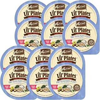 product image for Merrick Lil' Plates Grain Free Pint-Sized Puppy Plate Small Breed Wet Puppy Food, 3.5 oz., Case of 12 Cups, 12 X 3.5 OZ