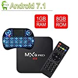 VGROUND Android TV Box with 3D 4K H.265 Decoding 2.4GHz S905W Quad Core 64 Bit 1/8G, Wireless Keyboard (Dispatched from CA)