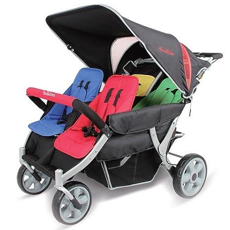 familidoo Heavy Duty carrito - 4 plazas: Amazon.es: Bebé