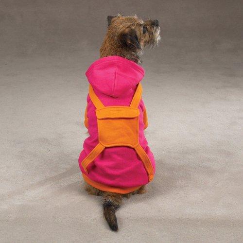 CC Backpack Hoodie Sweatshirt Sm - Canine Hoodie Backpack Casual