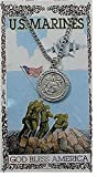 Marines Medal prayer card set