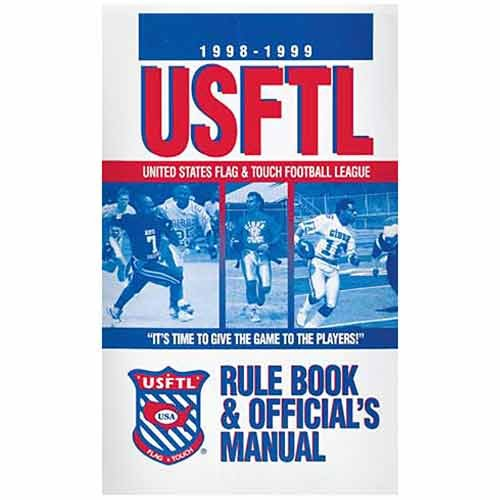 Book A-tag Game Flag (Flag-a-Tag USFTL Rule Book and Officials Manual)