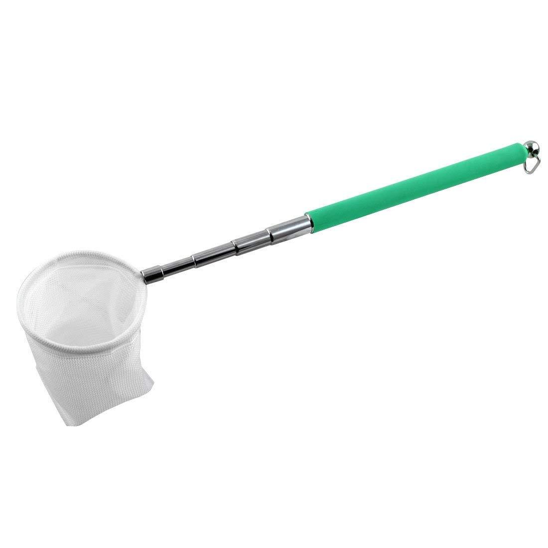 1Pc Aquarium Algae Plastic Handle Sponge Clean Brush Cleaner Green