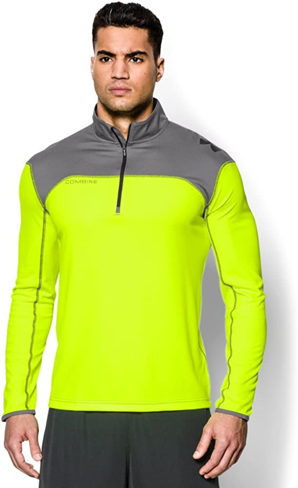 Under Armour Mens UA Combine Training Acceleration188; Zip X-Large High-Vis Yellow