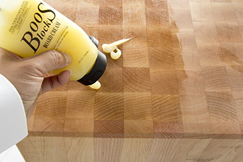 John Boos Cutting Board Oil and Cream Set: Includes One 16 Ounce Bottle Mystery Oil and One 5 Ounce Tube Board Cream by John Boos (Image #4)