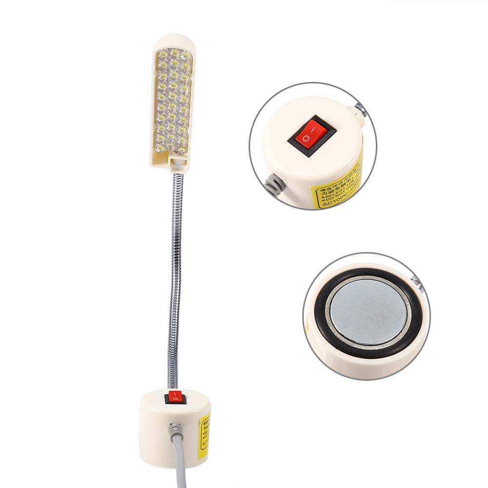 1PC 30 LED Lights Lamp with Magnetic Base Suitable for Many Metal Table and Kinds of Sewing Machine Protect Eyes