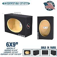 "6x9"" Speaker Box Enclosure 6x9"" Car Speaker Box (1 Pair)"