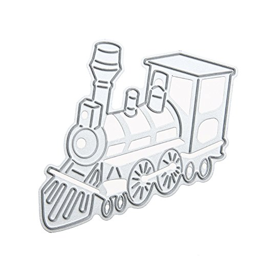 Die Train - WinnerEco Train Cutting Dies Stencil Metal Mould for DIY Scrapbook Album Paper Card