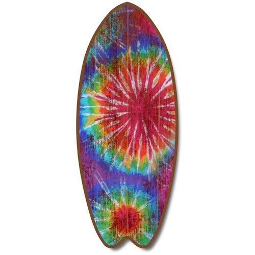 Tie Die - Large Surfboard