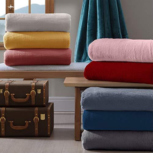 Naturalle 351595 Cobertor Microfibra Marinho