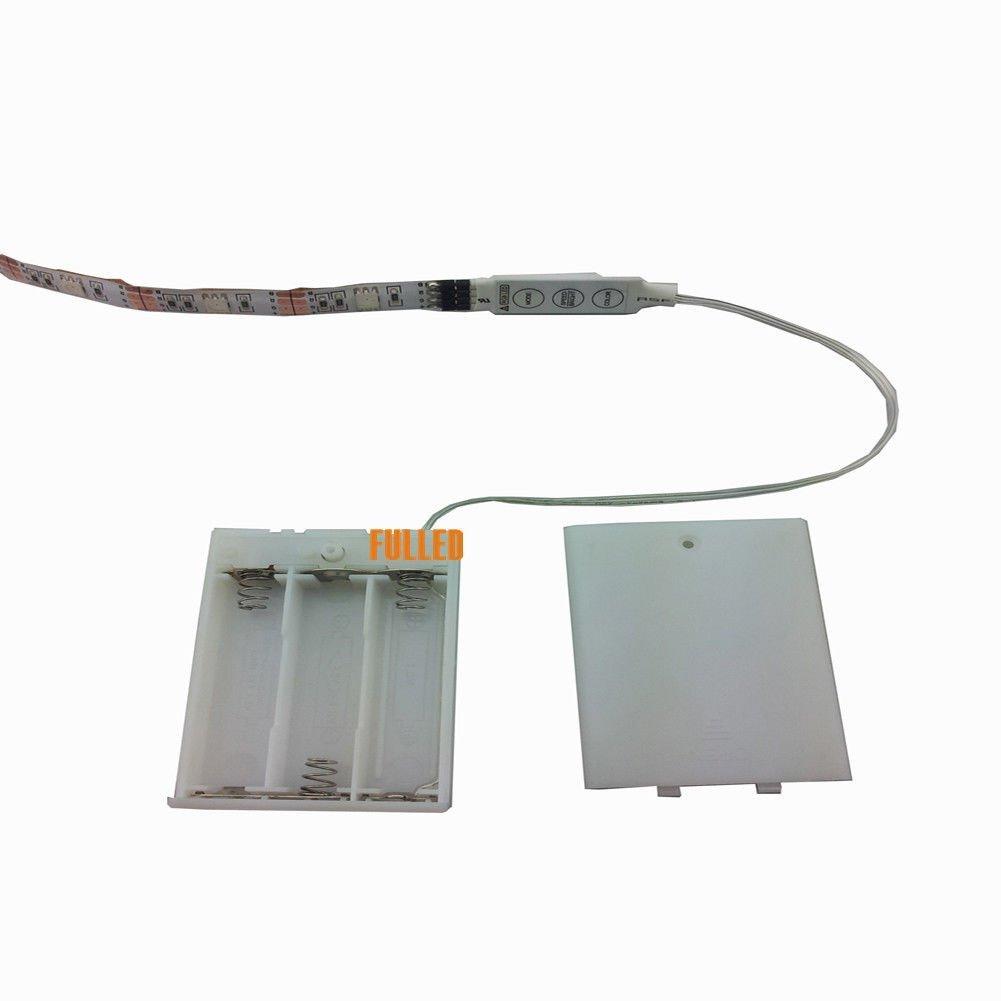 LED Licht leiste Stripe 200CM RGB Mehrfarbig + Mini Controller + ...