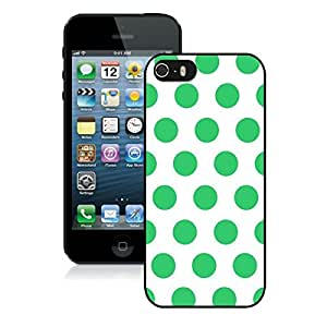 Unique Speck Iphone 5s Black Silicone Case Iphone 5 Durable Covers Soft Rubber White and Green Dot