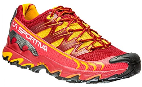 Chaussures La Sportiva Ultra Raptor Woman Rose-Jaune 2016