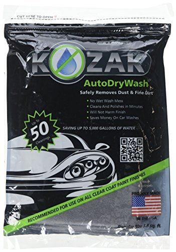 (Kozak Auto Dry Wash Waterless Car Wash Duster Cloth (1050B))