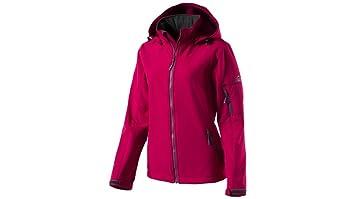 fda345ba62e35b McKinley veste Softshell pour femme Tura Veste softshell Multicolore Rose  Dark, Taille : 46
