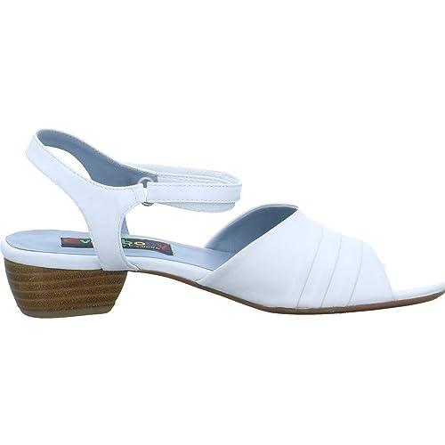 Everybody Damen Sandaletten 20891 Größe 37 Weiß (Weiß) SzUfAeecyO