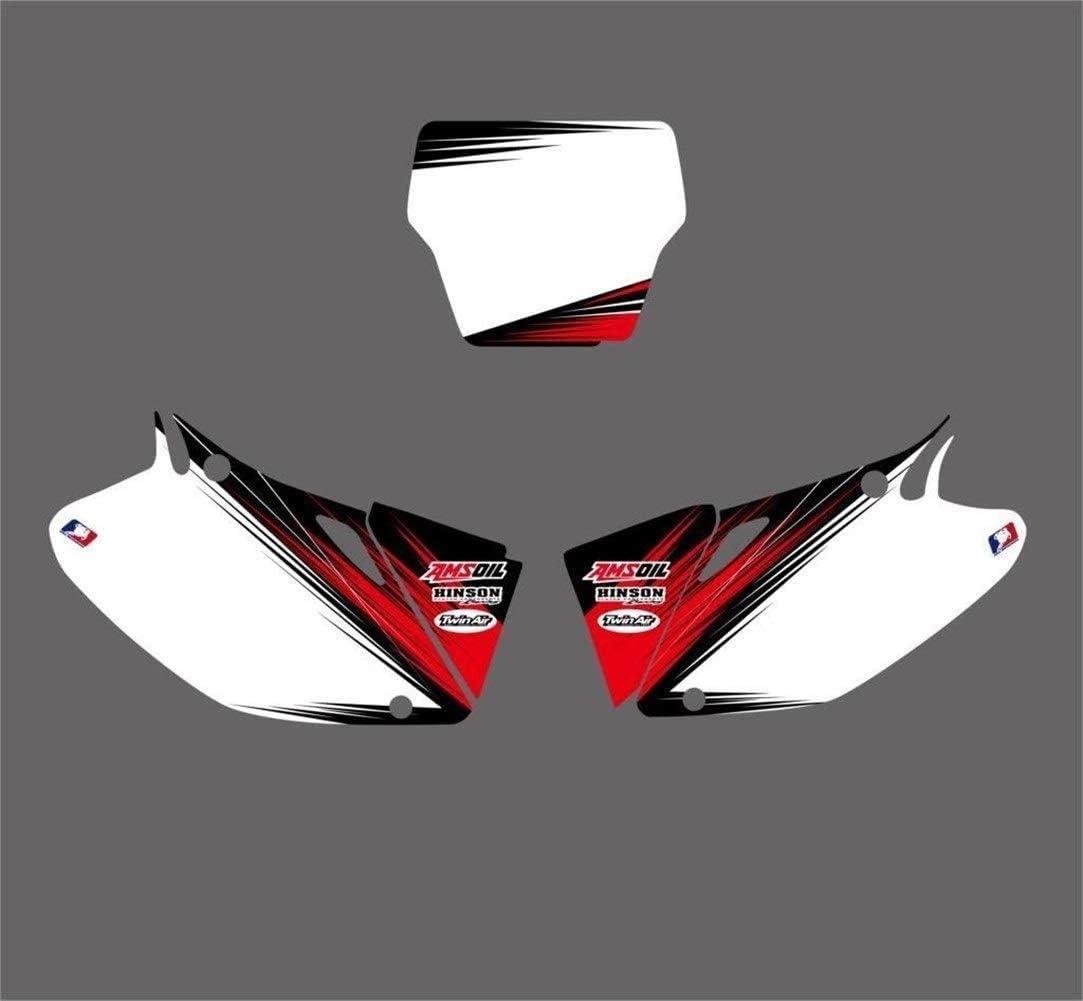 Grafiken Hintergrund-Abziehbild-Aufkleber-Kits for Honda CRF450R CRF450 2002 2003 2004 CRF 450 450R Pegatinas Moto