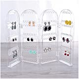 SISOFTLY Earrings Hanger Foldable Jewelry Organizer