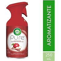 Air Wick Aromatizante Ambiental en Aerosol Pure, Manzana Canela, 250 ml