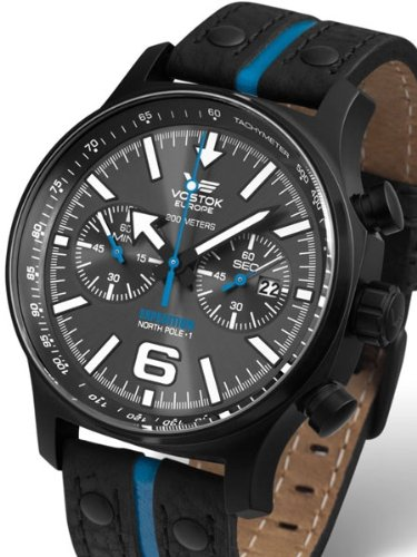Vostok-Europe Expedition North Pole Chronograph with 60 Minute Sub-Dial 5954198