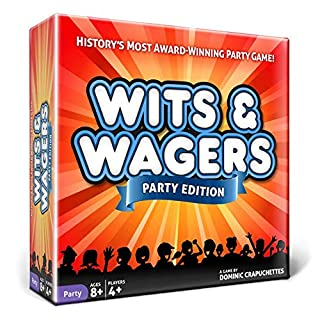 North Star Games Wits & Wagers Board Game Series | Kid Friendly Party Game & Trivia (Party)