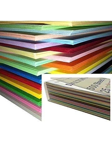250 Feuilles Papier Cartonne Carte Carton A4 160gm De Couleur