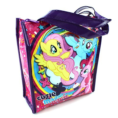 My Little Pony Soft Insulated Tote Lunch Box bag (1) (My Little Pony Chocolate Eggs)
